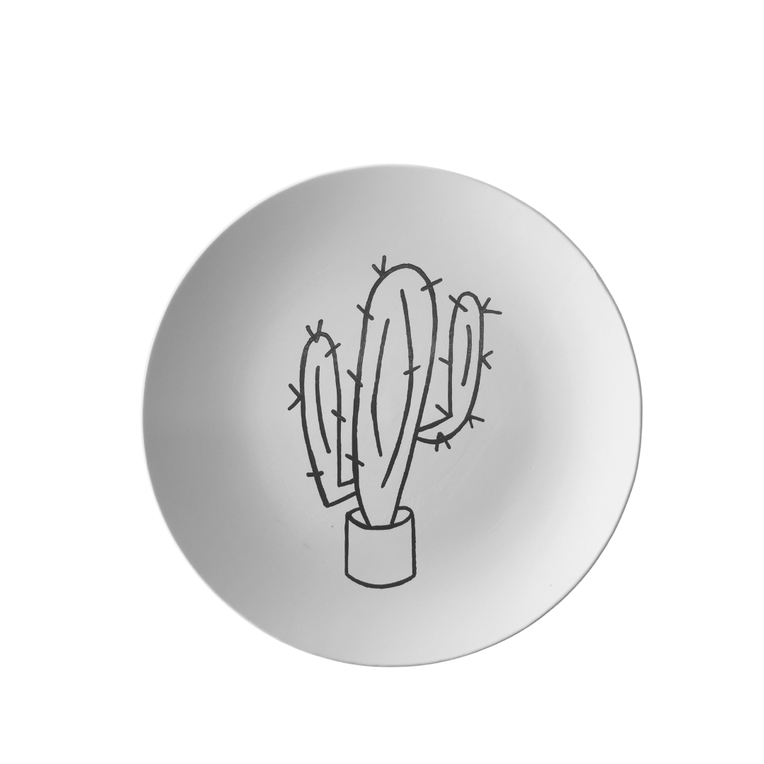 Cactus Coupe Dinner Plate