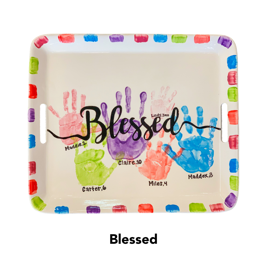 Custom Painted: Blessed