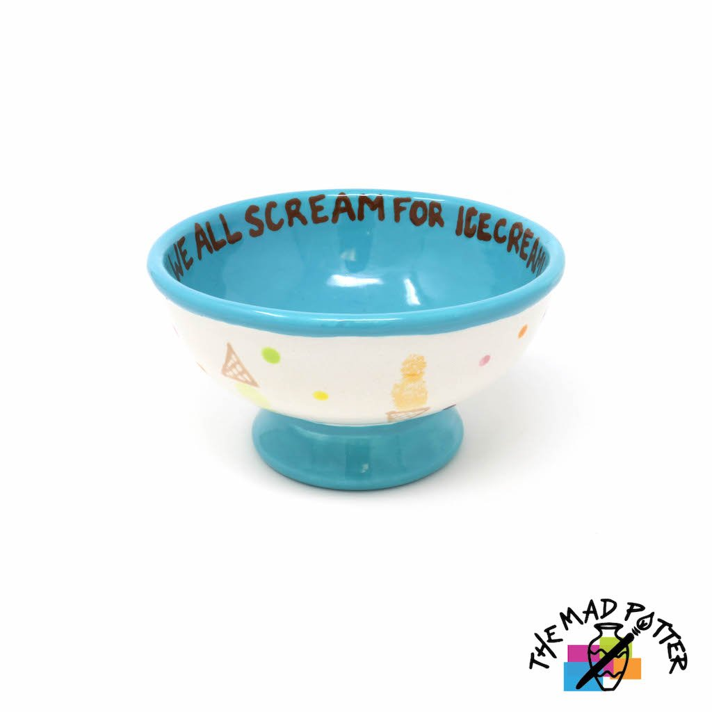 Footed Ice Cream Bowl