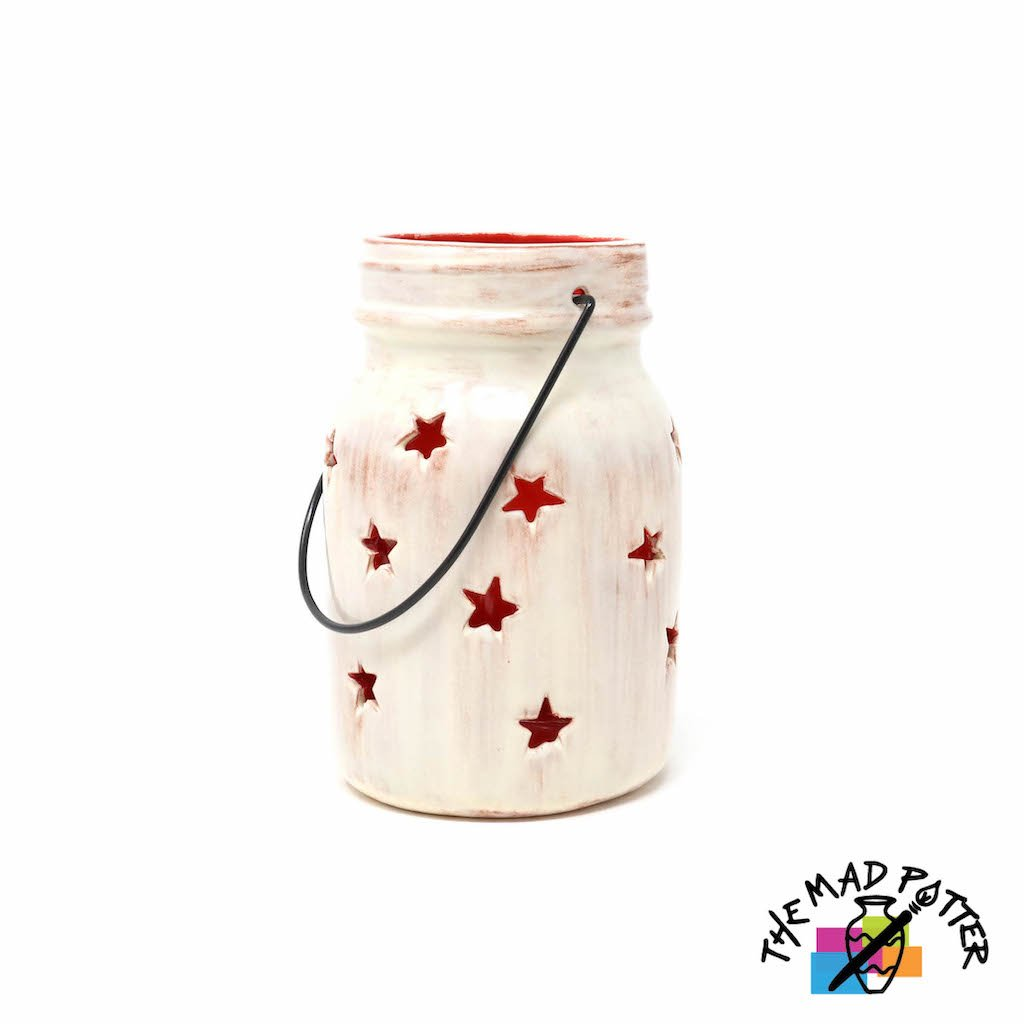 Large Star Jar Lantern