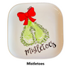 Custom Painted: Mistletoes