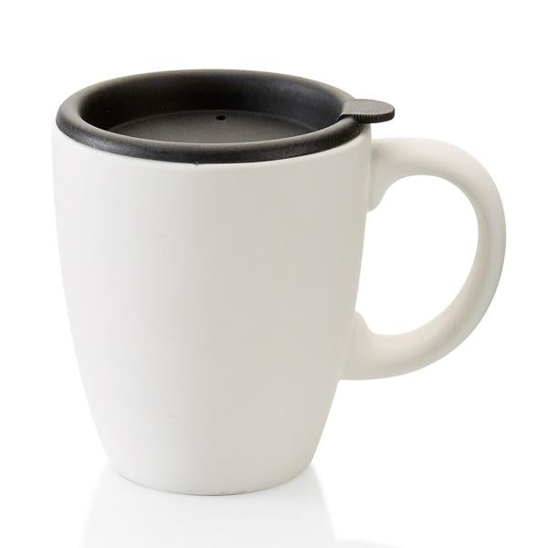Short Office Mug w/Lid