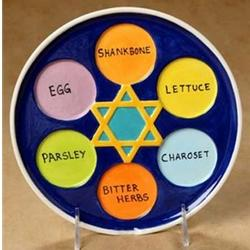 Small Seder Plate*