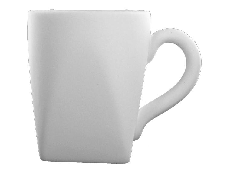 Sq Bottom Mug