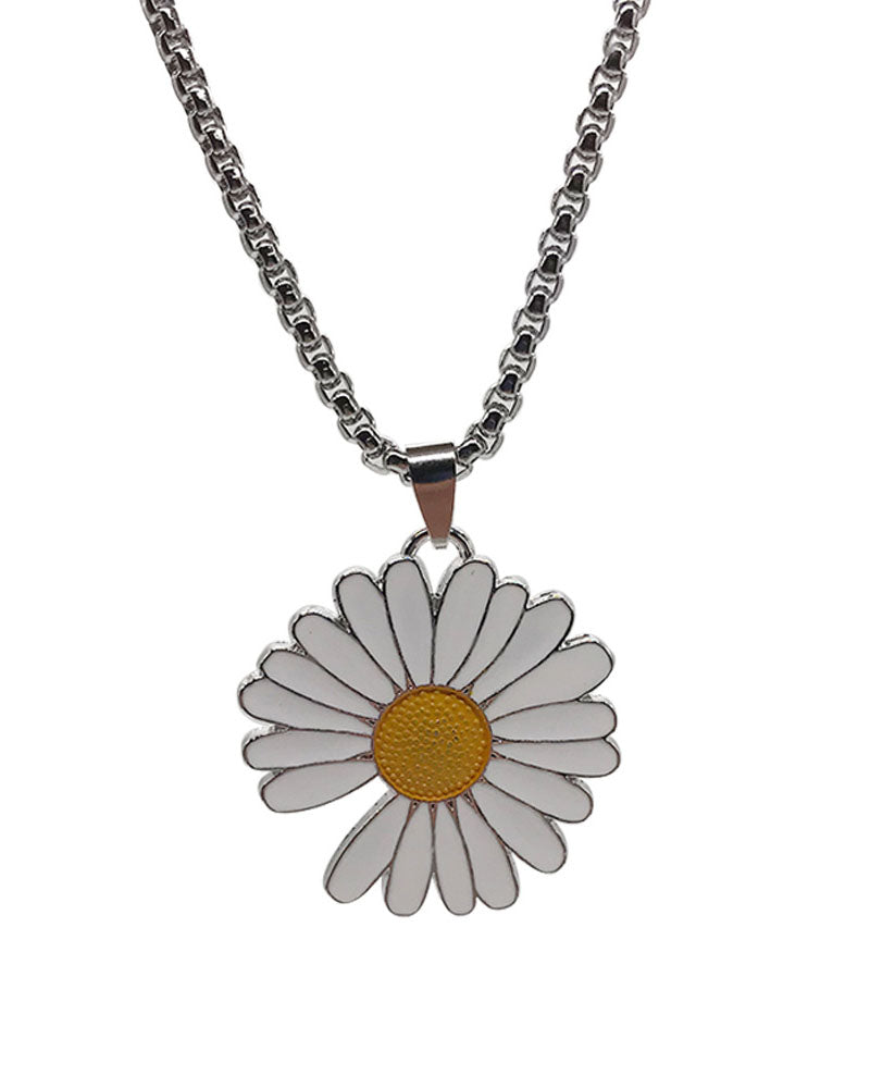 Fashion Little Daisy Metal Necklace