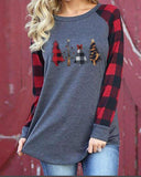Christmas round neck long sleeve sweater