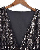 Holiday Party  Sequin Shirt Glitter Outfits