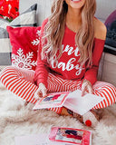 Printed Homewear Christmas Set