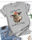 Fun Cow PatternTee