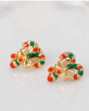 Christmas Cane Earrings