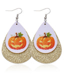 Halloween PU Earrings