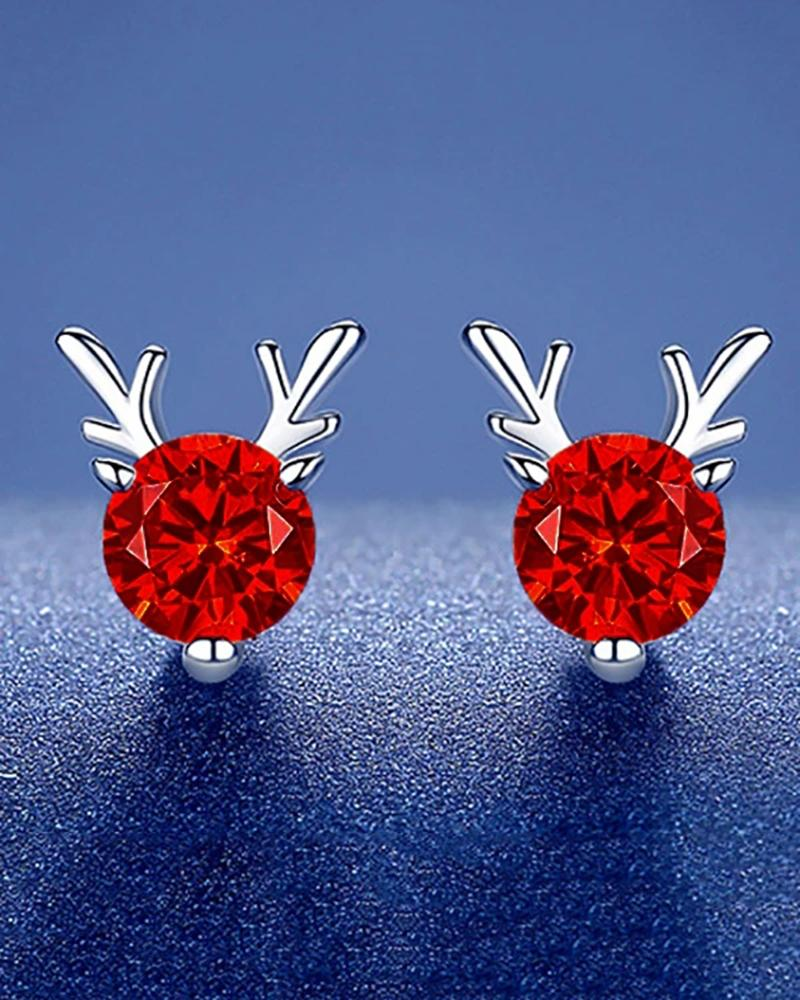 Reindeer Earrings Christmas Earrings
