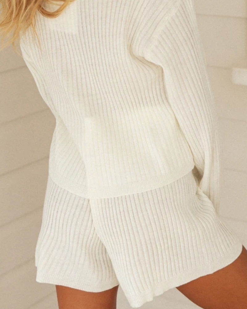 Fashion Sweater Suit