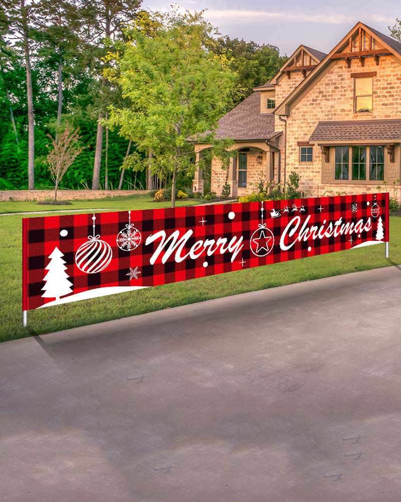 Christmas Halloween Letter Banner Holiday Decoration