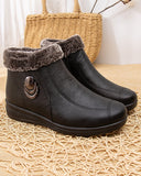Cotton Boots and Velvet Snow Boots