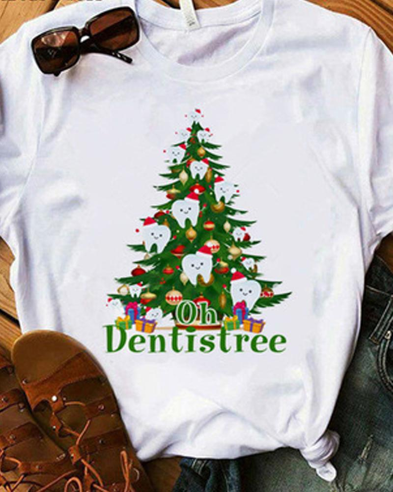 Merry Christmas Dental Squad Woman T-shirt