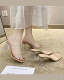 Transparent PVC Slippers