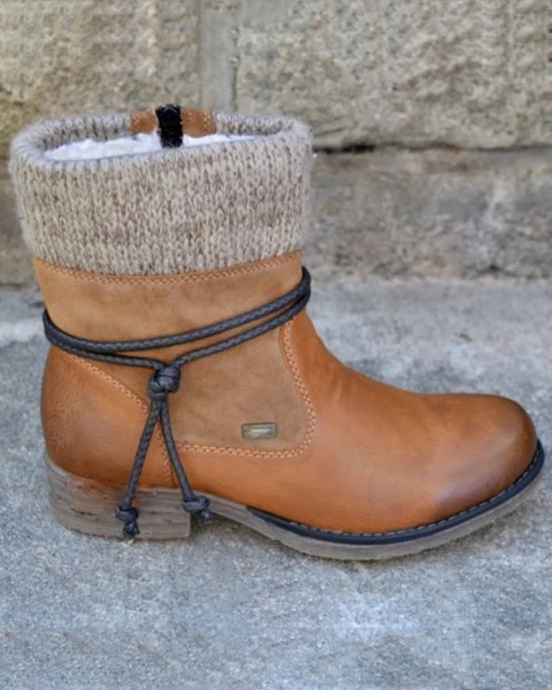 Daily Winter Flat Heel Boots