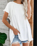 Casual Cotton Blouse