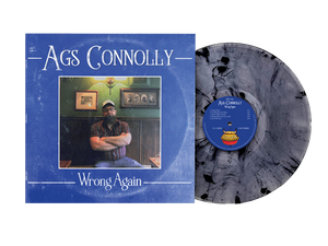 "Ags Connolly - Wrong Again 12"" limited edition 180g marbled vinyl"
