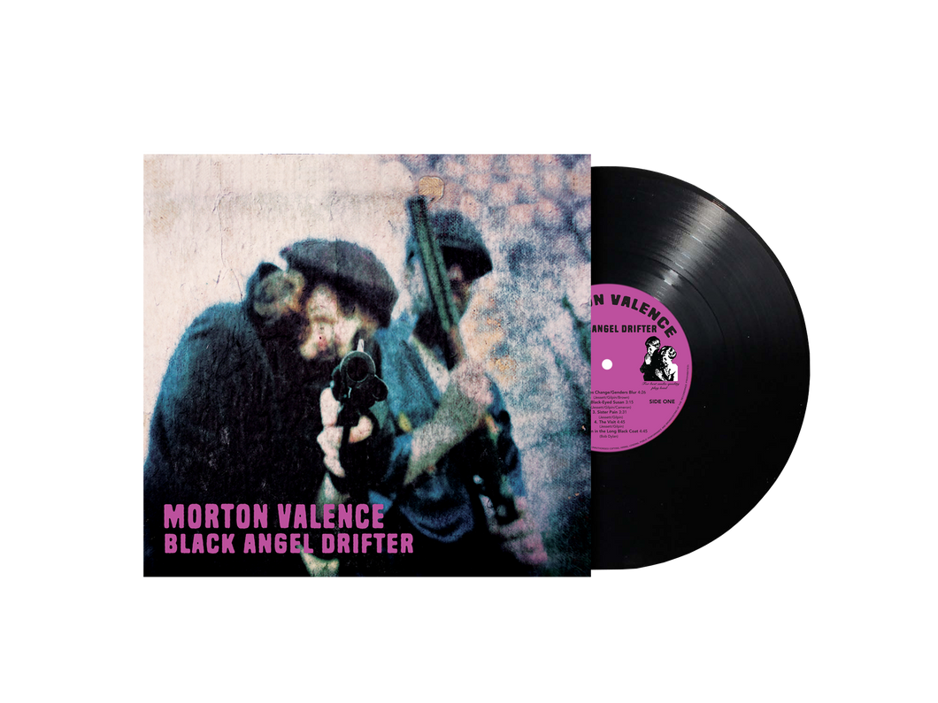 Morton Valence -- Black Angel Drifter 180g black as night vinyl