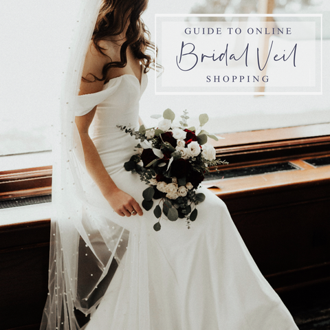 Guide to Buying a Bridal Veil Online - Tips when shopping online for wedding veil