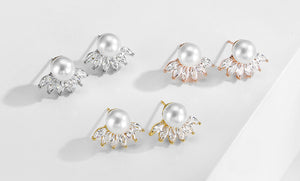 Camryn Pearl Stud Earrings
