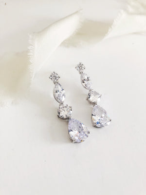 Bianca Diamond Drop Earrings