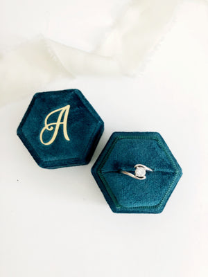 A Bermuda Hexagon Ring Box One-Off