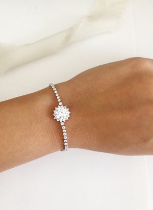 Deluxe Joelle Diamond adjustable Bracelet