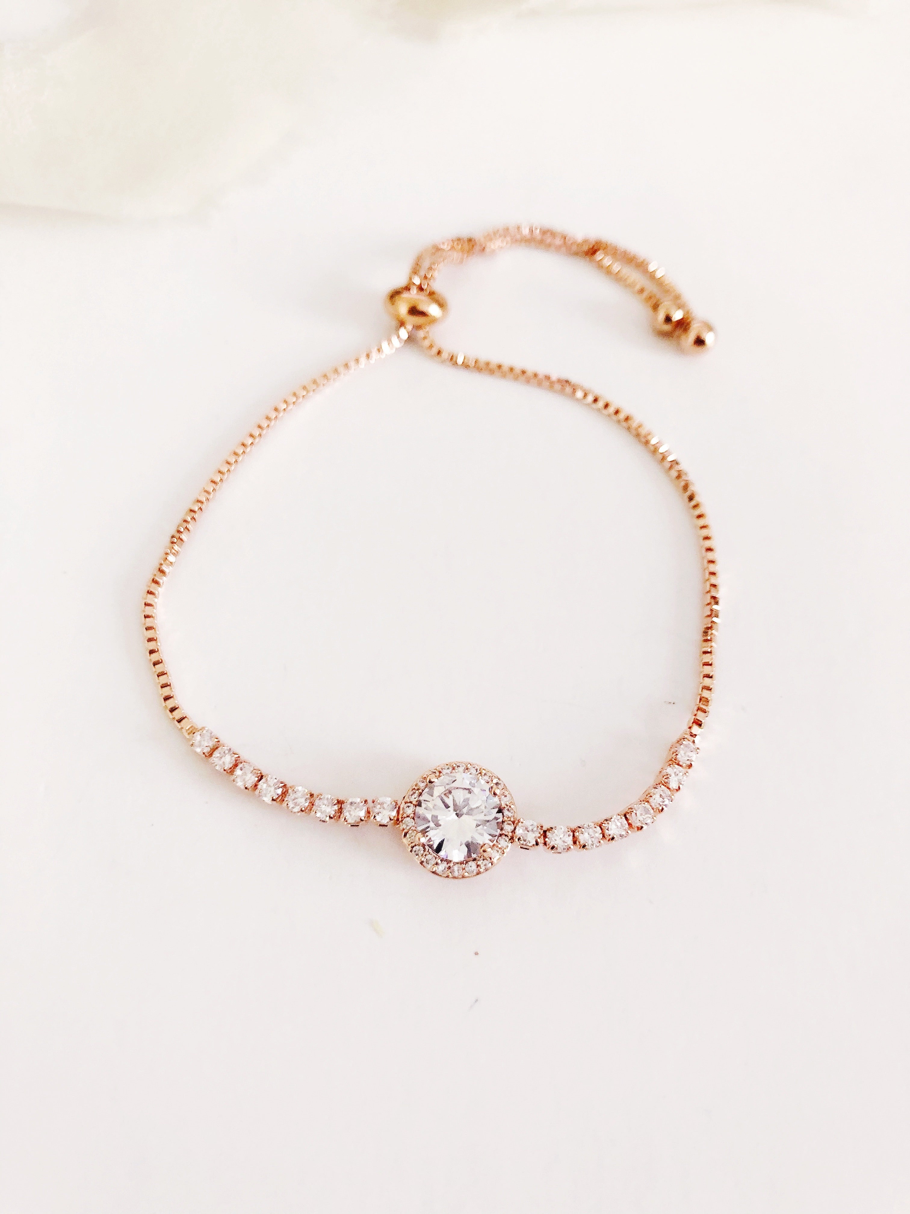 Joelle Diamond adjustable Bracelet
