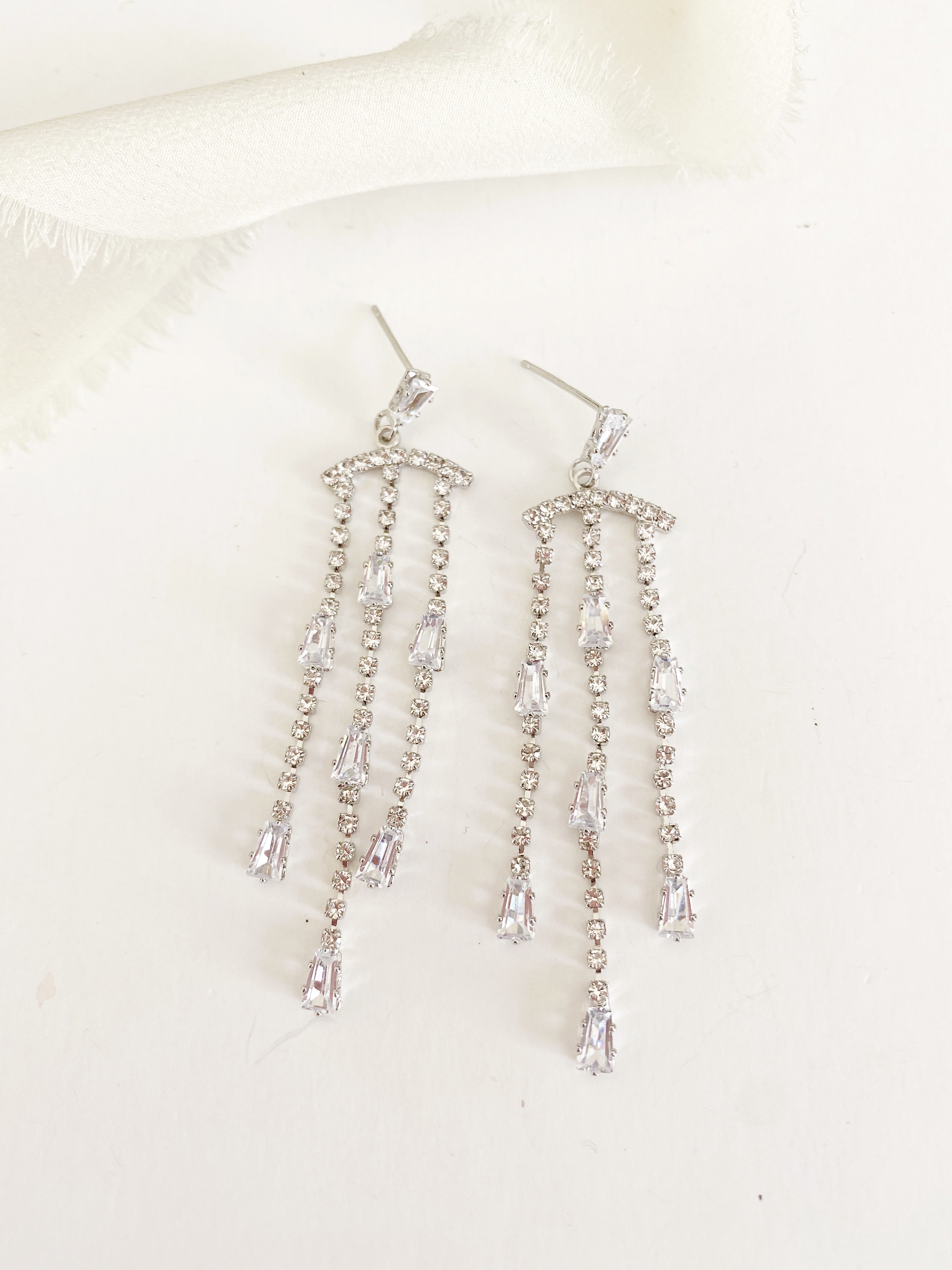 Merica Chandelier Diamond Earrings