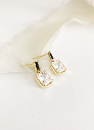 Celine Gold Wedding Earrings