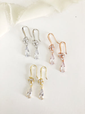 Cellis Diamond Drop Earrings