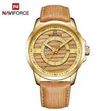 Load image into Gallery viewer, 2018 NEW Luxury Brand NAVIFORCE Men Sport Watches Men's Quartz Clock Man Army Military Leather Wrist Watch Relogio Masculino Bahria Stores by Bahria Stores in [product_type]