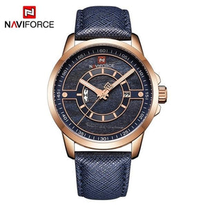 2018 NEW Luxury Brand NAVIFORCE Men Sport Watches Men's Quartz Clock Man Army Military Leather Wrist Watch Relogio Masculino Bahria Stores by Bahria Stores in [product_type]