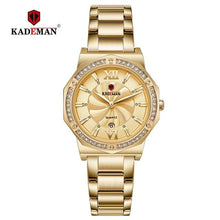 Load image into Gallery viewer, 2019 Ladies Watches TOP Luxury Crystal Dress Women Wristwatch  Bracelet 3TAM Quartz Watch Full Steel Casual Business Brand Clock Bahria Stores by Bahria Stores in [product_type]