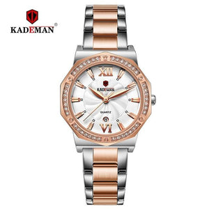 2019 Ladies Watches TOP Luxury Crystal Dress Women Wristwatch  Bracelet 3TAM Quartz Watch Full Steel Casual Business Brand Clock Bahria Stores by Bahria Stores in [product_type]