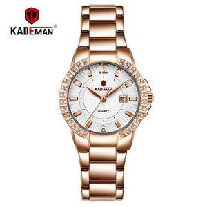 2019 Women Luxury Dress Watch Crystals Zircon Ladies Watches Waterproof Full Steel TOP Brand Female Wristwatch New Fashion Party Bahria Stores by Bahria Stores in [product_type]