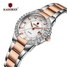 Load image into Gallery viewer, 2019 Women Luxury Dress Watch Crystals Zircon Ladies Watches Waterproof Full Steel TOP Brand Female Wristwatch New Fashion Party Bahria Stores by Bahria Stores in [product_type]