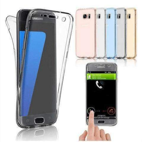 360 FRONT BACK COVER TPU FOR SAMSUNG GALAXY ALL MODELS Bahria Stores by Samsung in Accessories