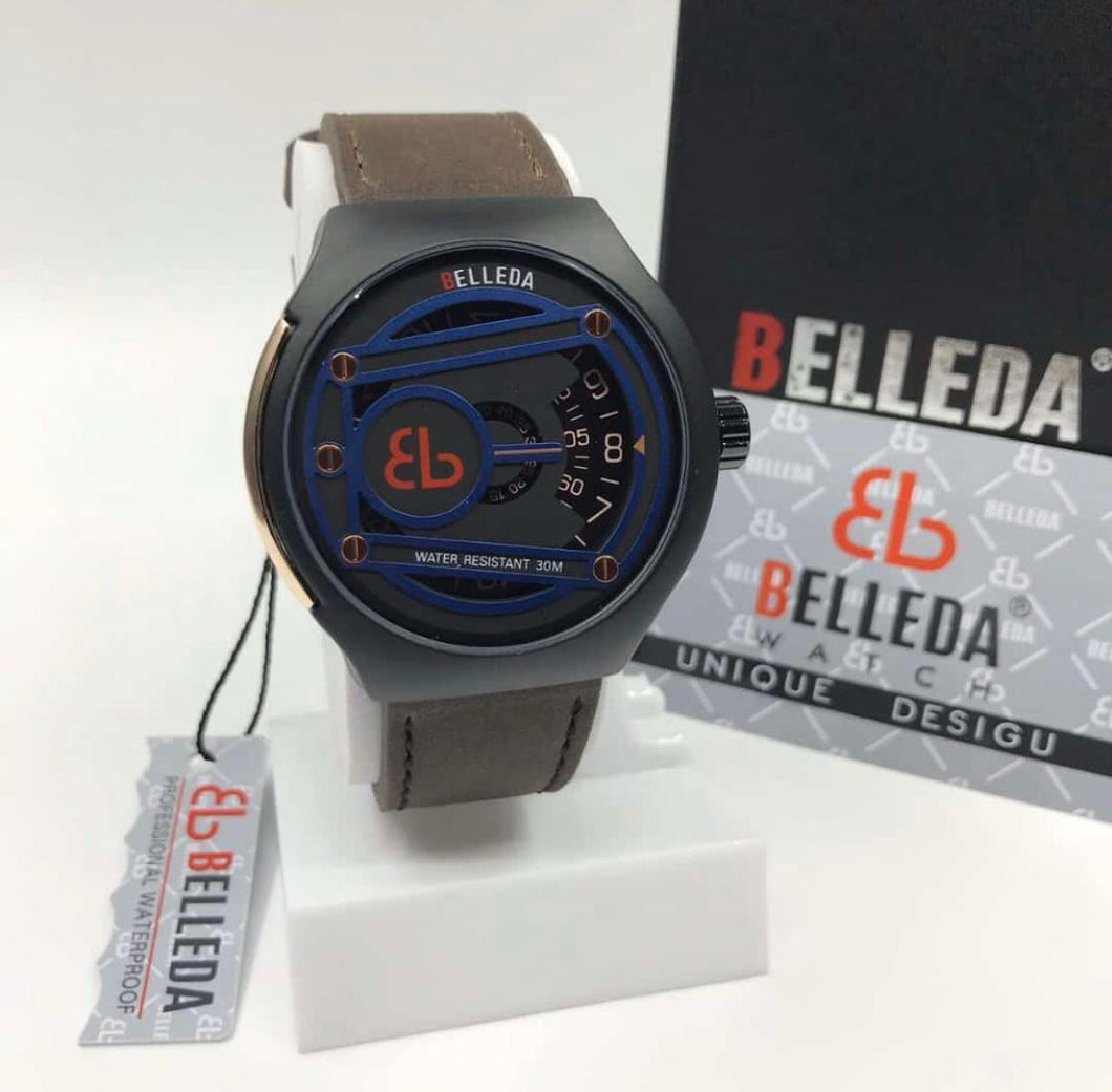 Original Brand BELLEDA Luxury Watch for Men with Unique Display Bahria Stores by AnzorStore in Wrist Watch