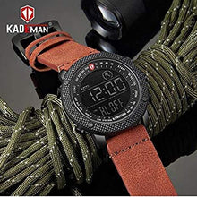 Load image into Gallery viewer, KADEMAN Business Casual Step Counter Waterproof Leather Strap Digital Wristwatch - K6121 Bahria Stores by AnzorStore in Wrist Watch
