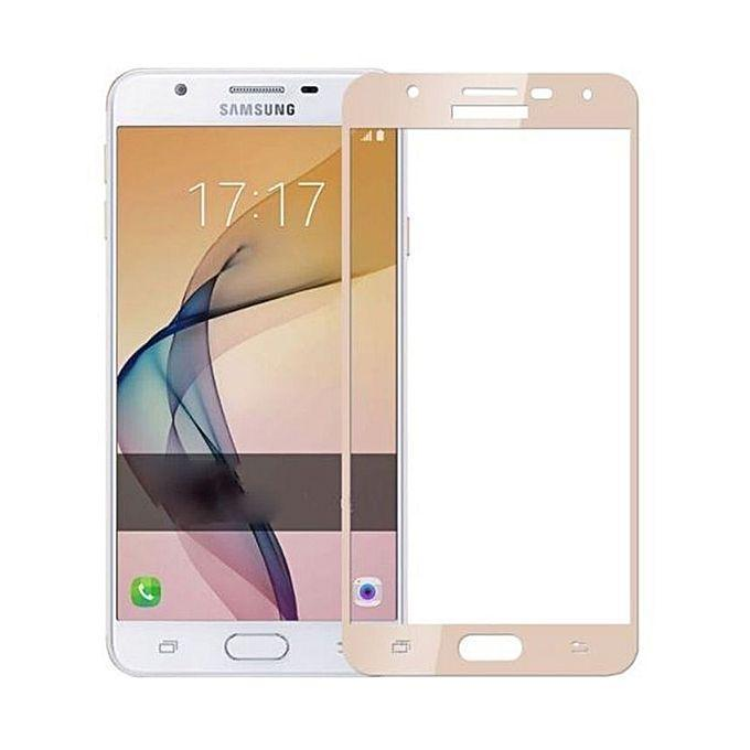 Tempered Glass Protector For J7 Prime - Gold Price In Pakistan
