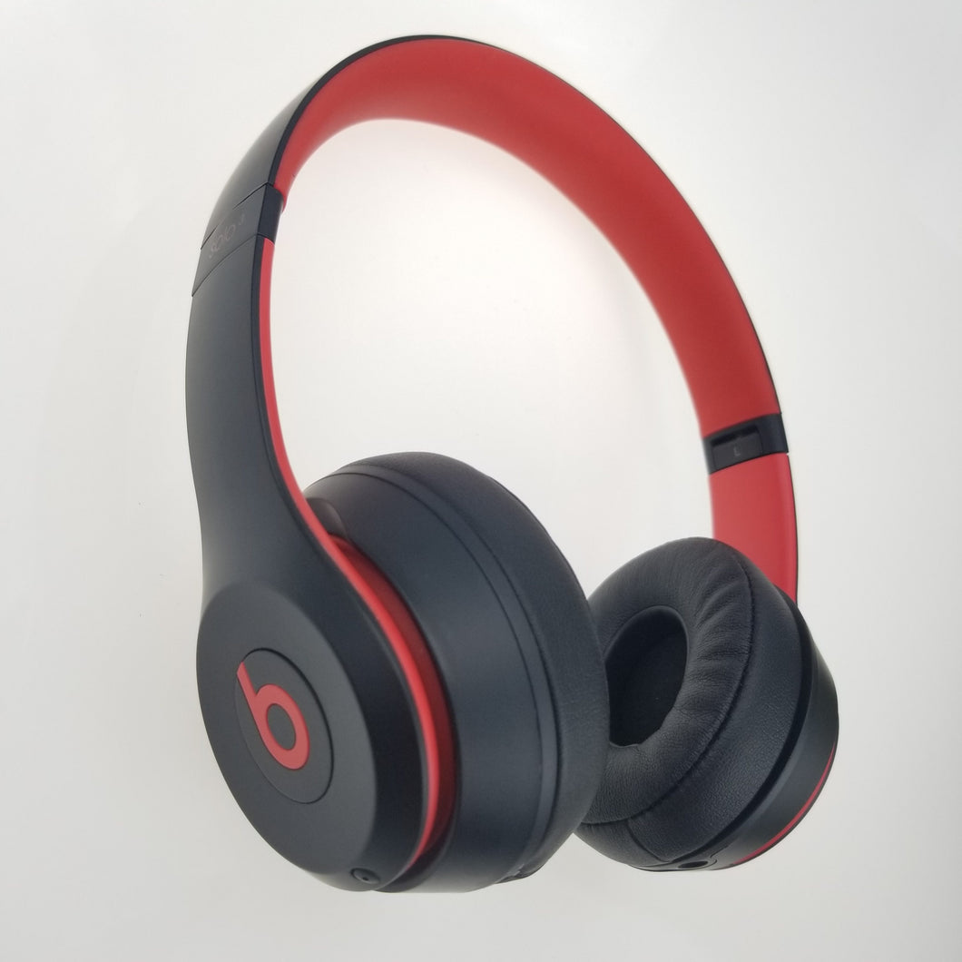 Beats Solo Original Over-Ear Headset Hands-free Wireless Bluetooth Headphone Fast Charge Anti Noise