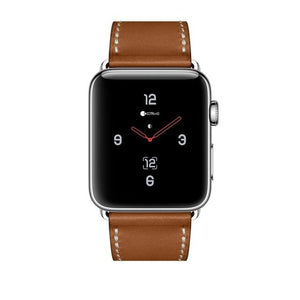 COTEetCI W16 Argentinean Grain Leather Watchband For Apple Watch Band Series 3/2/1 38mm/42mm For Apple Watch