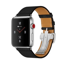 Load image into Gallery viewer, COTEetCI W16 Argentinean Grain Leather Watchband For Apple Watch Band Series 3/2/1 38mm/42mm For Apple Watch