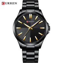 Load image into Gallery viewer, CURREN Watches Men Fashion Watch 2019 Luxury Stainless Steel Band Reloj Wristwatch Business Clock Waterproof  Relogio Masculino Bahria Stores by Bahria Stores in [product_type]