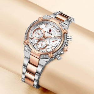 Full Steel Luxury Ladies Wristwatches TOP Quality Brand Design Women Watches 3ATM 2019 New Fashion Female Business Casual Clocks Bahria Stores by Bahria Stores in [product_type]