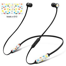 Load image into Gallery viewer, GOOYIYO - For Beats X DIY Personality Decal High Quality 3M Vinyl Colored Skin For BeatsX Wireless Headphone Headset Stickers